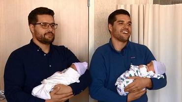 Bliźniakom urodziły się dzieci tego samego dnia