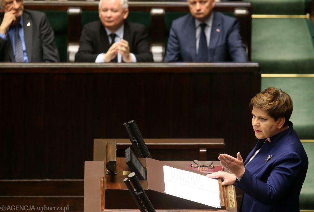Premier Szydło do opozycji: