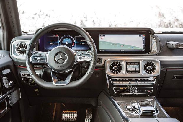 Mercedes-Benz Klasy G (G 350 d)