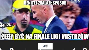 Rafa Benitez nie mógł odpuścić sobie udziału w finale i przebrał się za ochroniarza