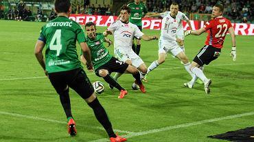 Ekstraklasa uratowana. Górnik Łęczna - GKS Bełchatów 1:0.