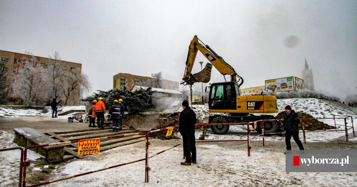 Wspaniały Usunięto awarię ogrzewania w północnej części Kielc. Ciepła woda KN24