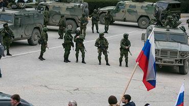 Rosyjscy żołnierze - w gotowości...