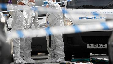 Policja na miejscu ataku w Birstall pod Leeds