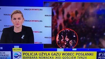 Barbara Nowacka o policji: Opowiadają bzdury i nieprawdy. 'Trwa systemowe zastraszanie obywateli'