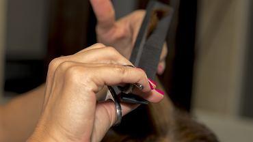 Fryzjer, zdjęcie ilustracyjne