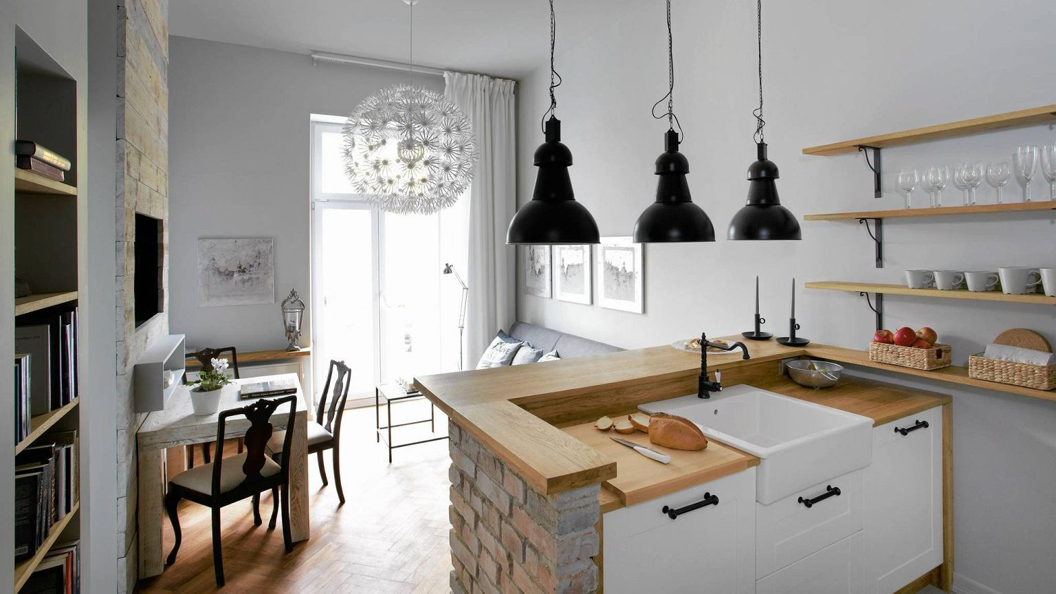 Salon Polaczony Z Kuchnia 15 Pomyslow Na Aranzacje