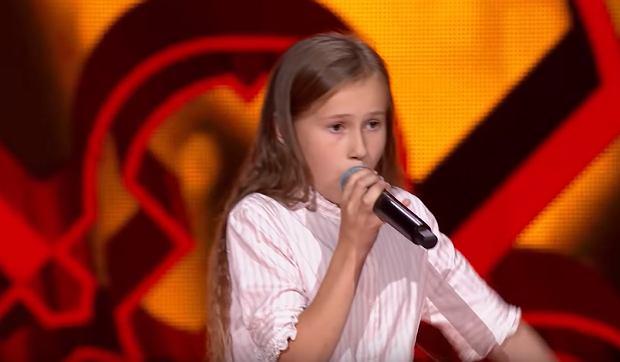 Ola Gwazdacz - 'The Best' - Przesłuchania w ciemno   The Voice Kids Poland 3