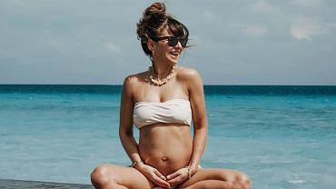 Anna Lewandowska radzi, czego nie robić podczas ćwiczeń w ciąży