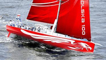 Jacht w barwach narodowych