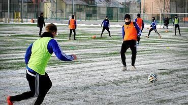 Pierwszy noworoczny trening Piasta Gliwice