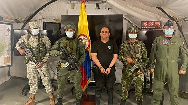 Dairo Antonio Usuga 'Otoniel' schwytany przez kolumbijskie służby