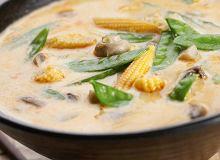 Pikantna zupa z pieczarkami - ugotuj