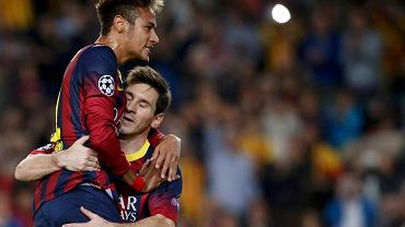 Neymar i Leo Messi
