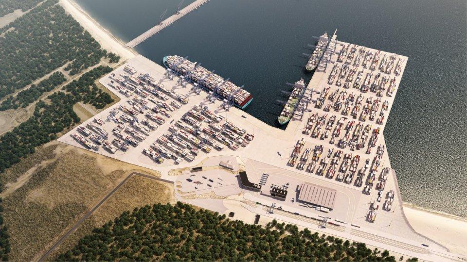 Tak będzie wyglądał terminal DCT po rozbudowie w 2016 roku