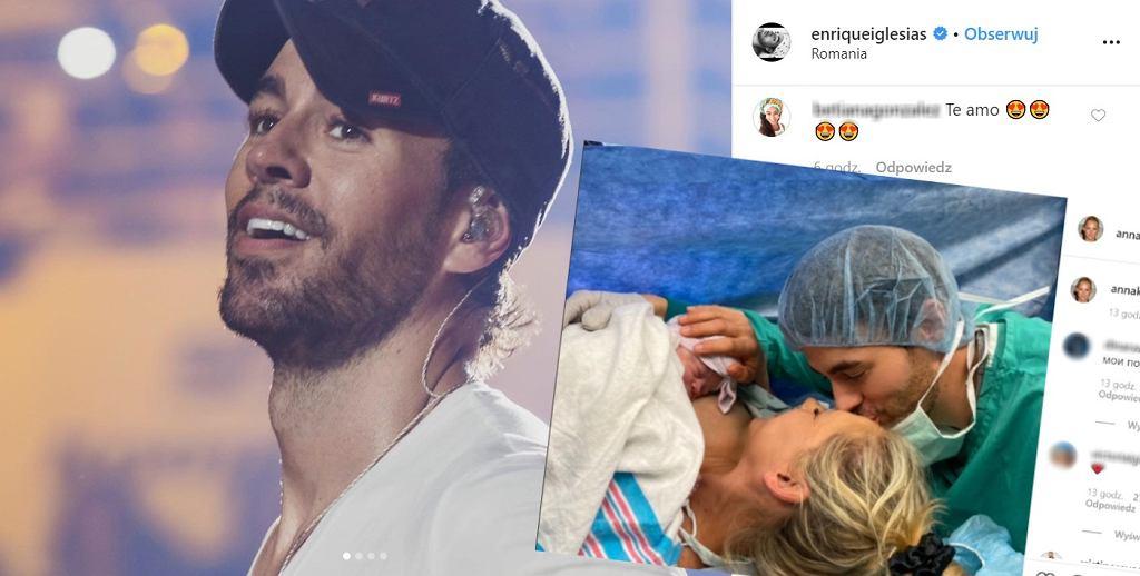 Enrique Iglesias i Anna Kournikova zostali rodzicami. Pokazali zdjęcia