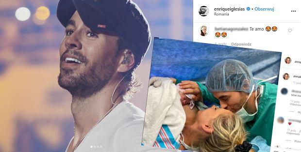 Enrique Iglesias i Anna Kournikova zostali rodzicami. Pokazali intymne zdjęcia prosto z porodówki