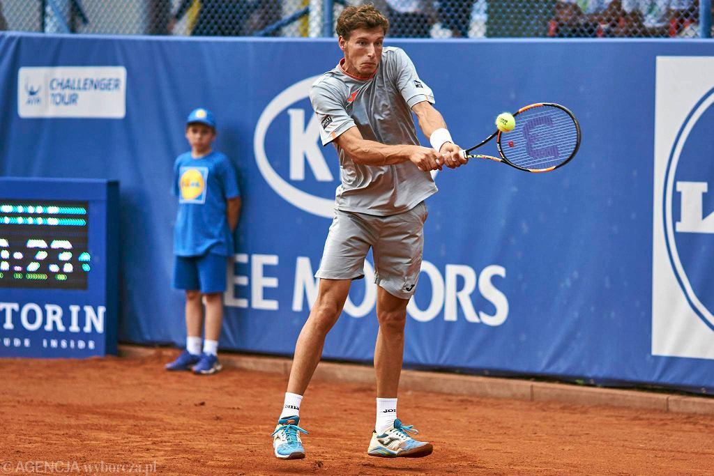 Rozstawiony z nr Pablo Carreno jest już w ćwierćfinale Poznań Open