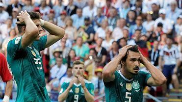 MŚ 2018. Korea Południowa - Niemcy 2:0. Mario Gomez i Mats Hummels
