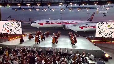 Powitanie samolotów na gali na Lotnisku Chopina