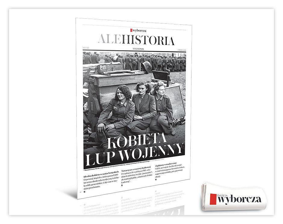 'Ale Historia' już w poniedziałek, 2 marca w 'Wyborczej'