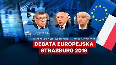 Debata Europejska w Strasburgu