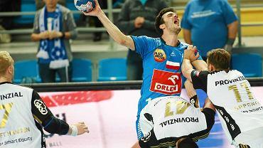 Liga Mistrzów, piłka ręczna. Orlen Wisła Płock - THW Kiel 33:34 (14:14)
