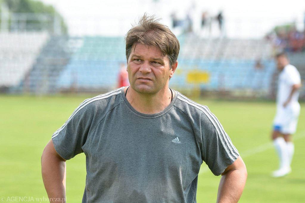 Trener Rakowa Radosław Mroczkowski
