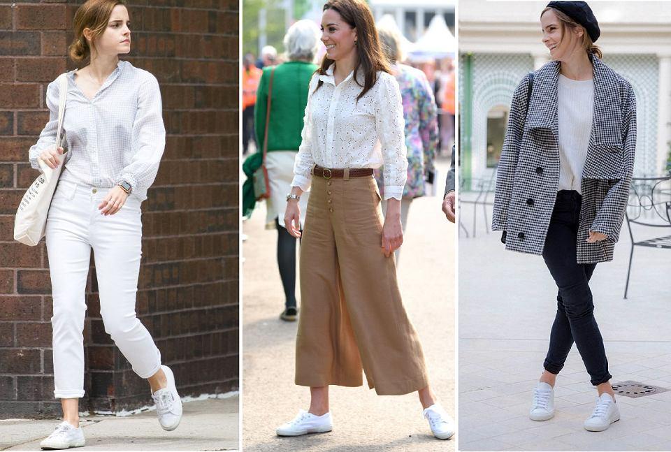 Emma Watson i Kate Middleton w butach Superga