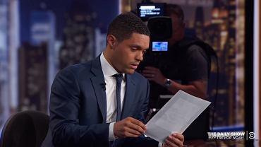 Trevor Noah w programie 'The Daily Show'