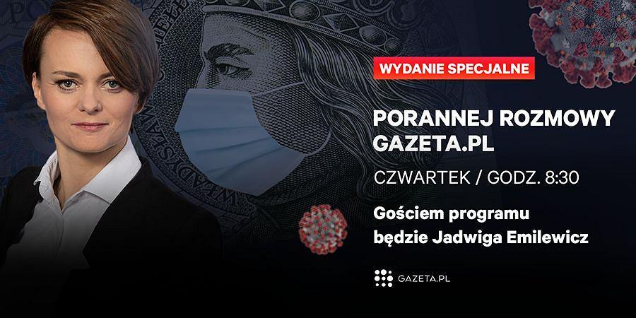 Jadwiga Emilewicz, Poranna Rozmowa Gazeta.pl