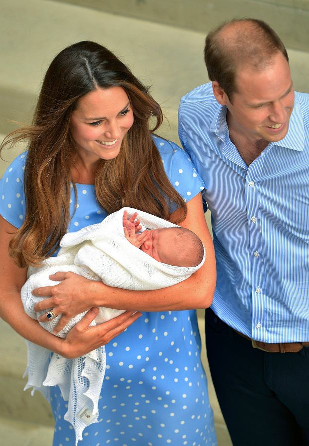 Księżna Kate, książę William, syn, royal baby