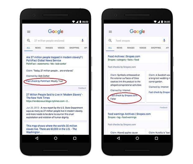 google factcheck