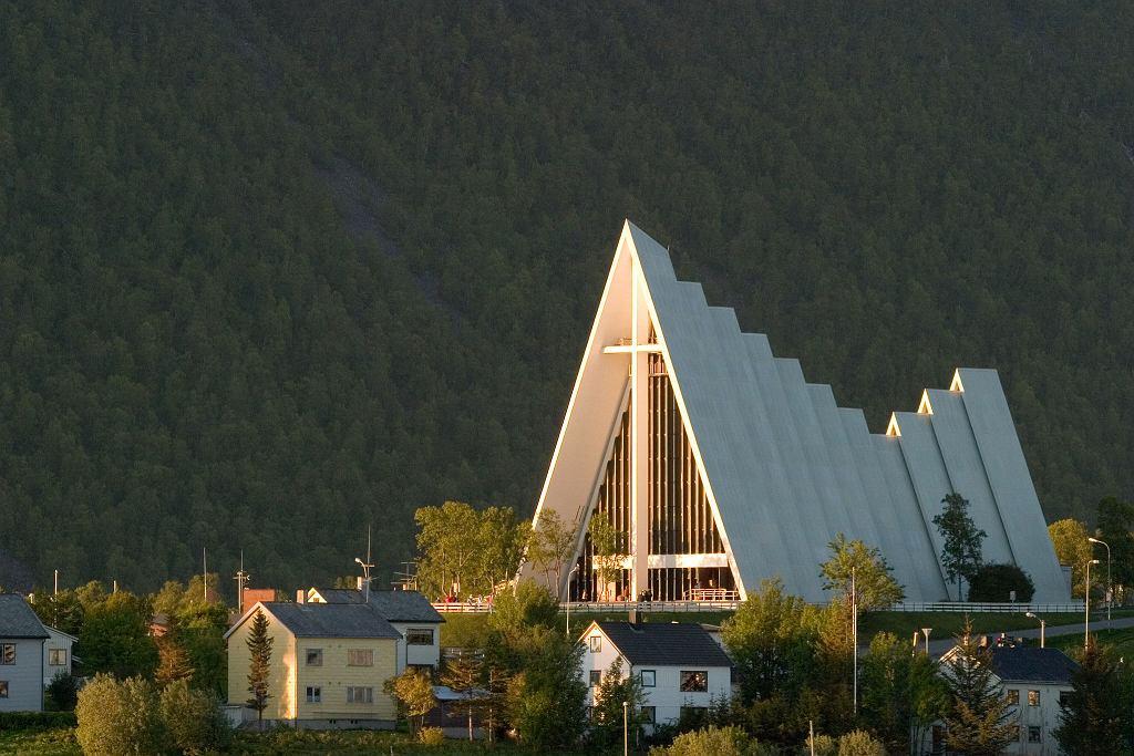 Katedra w Tromso na północy Norwegii