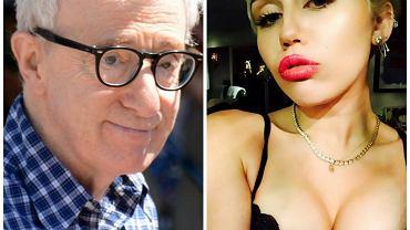 Woody Allen i Miley Cyrus