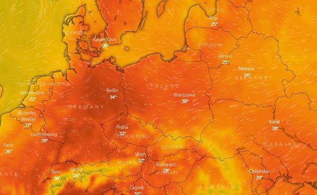 Pogoda w Polsce w tym tygodniu