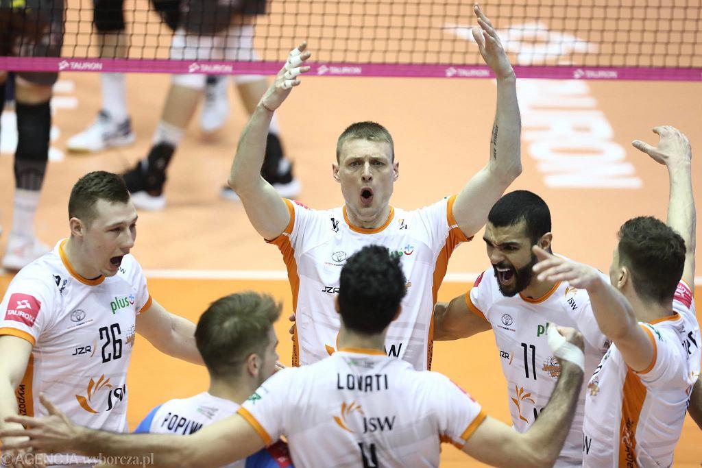 Finałowy turniej Pucharu Polski. Jastrzębski Węgiel - Trefl Gdańsk 3:0