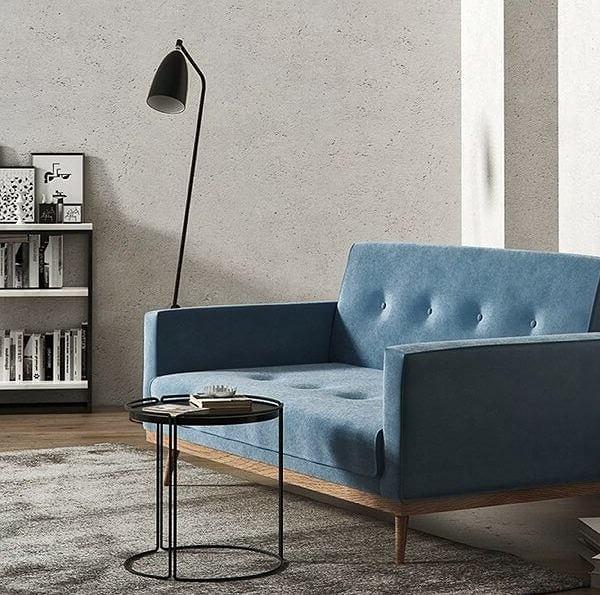 Dwuosobowa sofa Klematisar idealnie podkreśli charakter każdego wnętrza