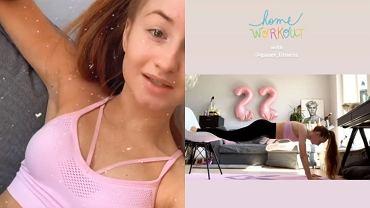 Angelika Mucha - trening w domu