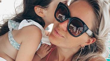 Zofia Ślotała z córką Ranią
