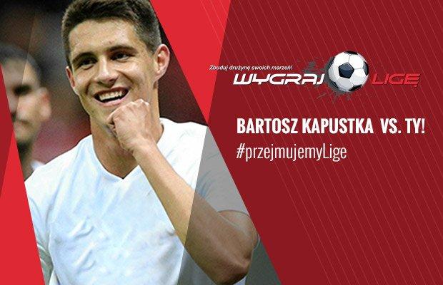 Bartosz Kapustka w Wygraj Ligę