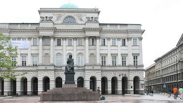 Siedziba Polskiej Akademii Nauk