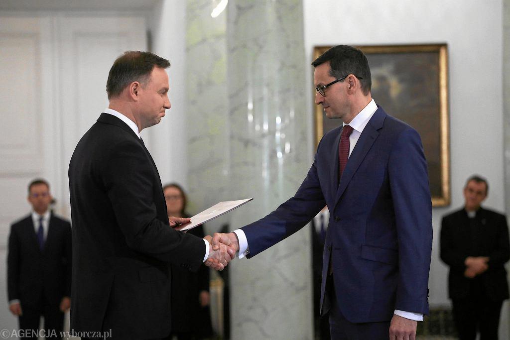 8 grudnia 2017, desygnacja Mateusza Morawieckiego na premiera RP.