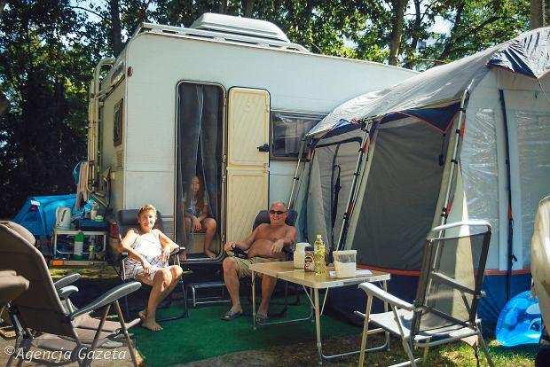 pełne podłączenie campingu michigan