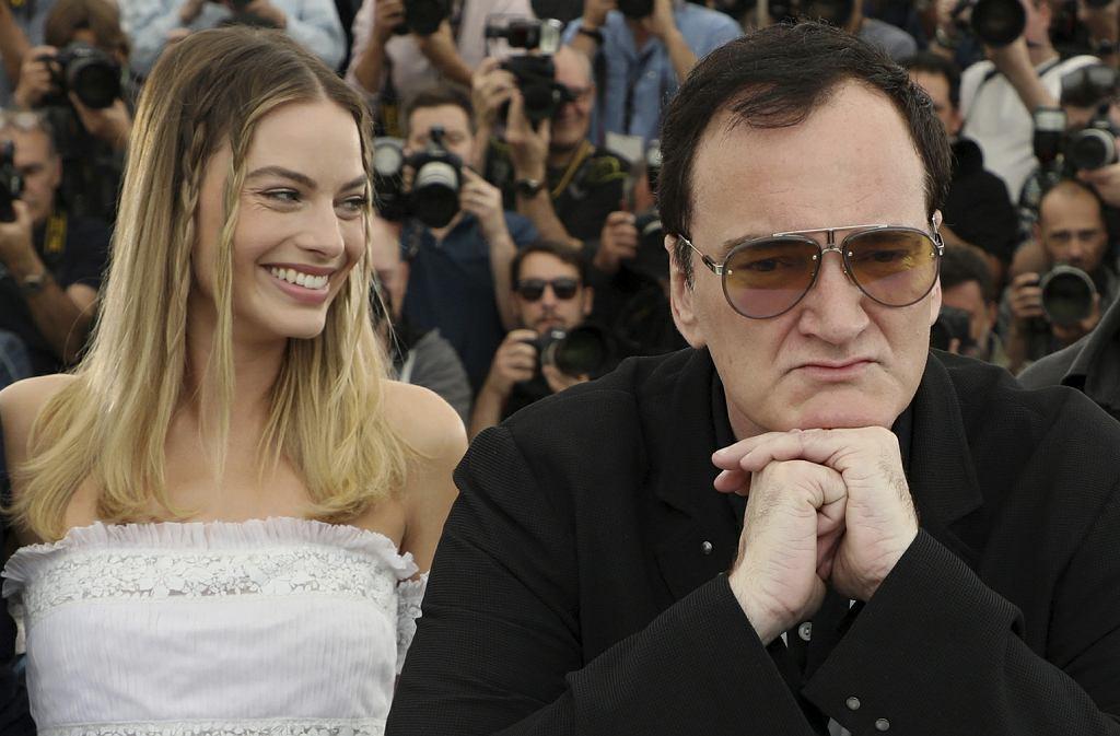 Margot Robbie i Quentin Tarantino w Cannes