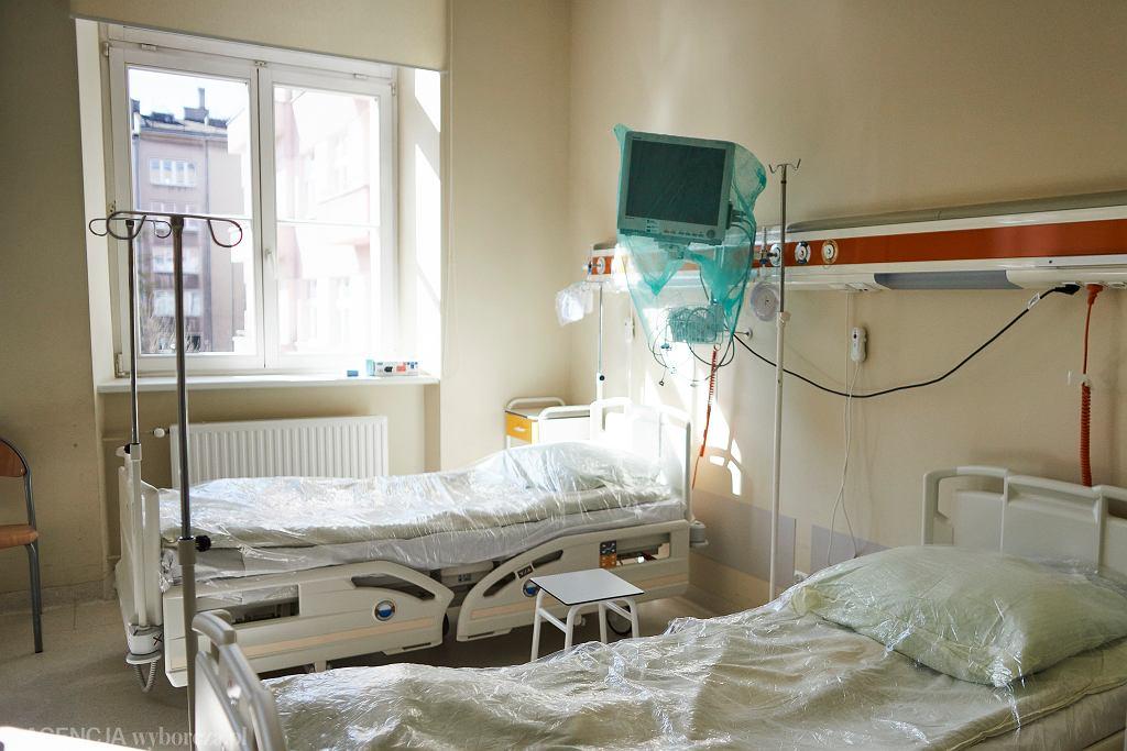 Szpital w czasie epidemii koronawirusa / zdjęcie ilustracyjne