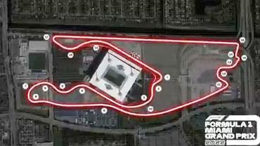 Nowy tor w Miami (Grand Prix w Miami F1 od 2022 roku). Źródło: Formuła 1/ Twitter