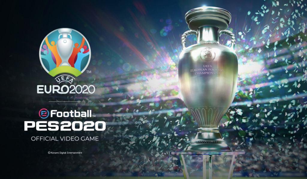 Euro 2020 w najnowszej aktualizacji Pro Evolution Soccer 2020. Źródło: Twitter
