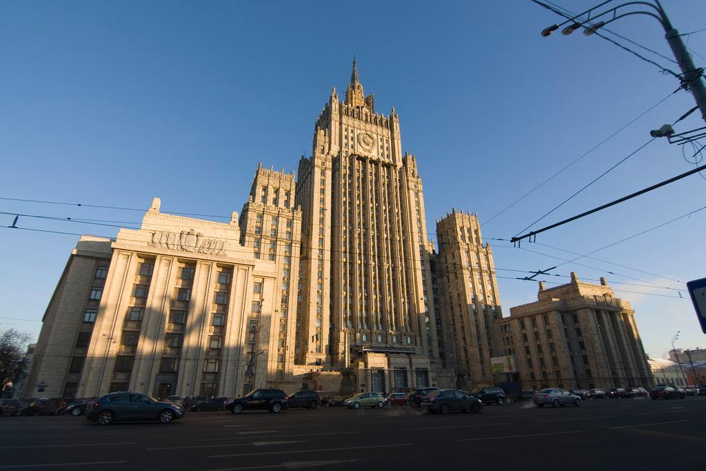 Siedziba MSZ Rosji. Zdjęcie ilustracyjne