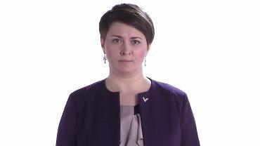Tacciana Karatkiewicz, kandydatka na prezydenta Białorusi